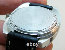 Rare Serviced Bulova Accutron 2182 Stainless Steel Tuning Fork Men Watch N4