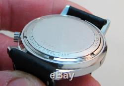 Rare Serviced Vintage 2182 Accutron Stainless Steel Tuning Fork Mens Watch M7