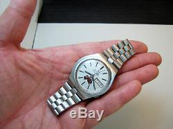 Rare Serviced Vintage 2182 Accutron Stainless Steel Tuning Fork Mens Watch N4