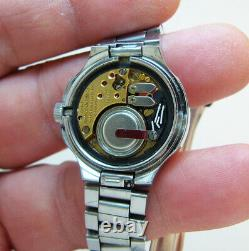 Rare Serviced Vintage 2302 Accutron Stainless Steel Tuning Fork Lady Watch N3