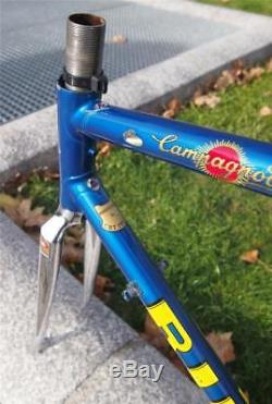 Rare + Special C. B. T. Italia Columbus Steel Road Bike Frame Fork 53cm CBT NICE