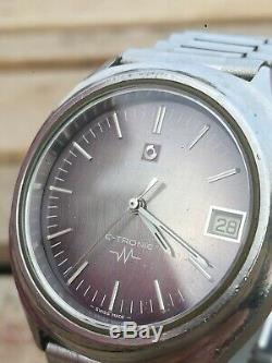 Rare Vintage Certina C Tronic cal. 29-152 Bulova patent Tunning Fork esa 9164