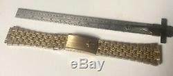 Rare Vintage JB Champion 14k GF Tiny Tuning Forks Bracelet Band BULOVA Accutron