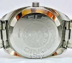 Rare Vintage SS Rado Electrosonic ESA9162 Tuning Fork watch Ref 15002