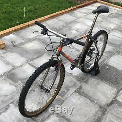 Retro Orange P7 MTB Mountain Bike 19 inch F7 forks Shimano LX Groupset