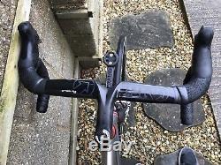 Reynolds 953 Steel Road Bicycle, Enve Forks, Hope Wheels, Sram Red, 55cm Medium
