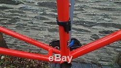 Ribble steel reynolds 525 winter frame and carbon forks
