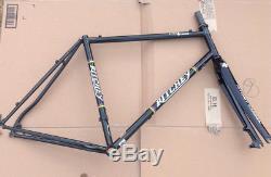 Ritchey Swiss Cross Disc Cyclocross CX frame fork headset etc 59cm