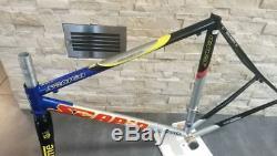 SCAPIN EOS Pro Team Columbus Foco steel frame carbon fork frameset 51 52 cm VGC