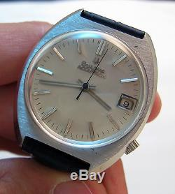 Serviced 219 Accutron Stainless Steel Tuning Fork Men's Watch N2