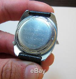 Serviced Vintage 218 Accutron Stainless Steel Tuning Fork Mens Watch N1