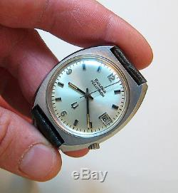 Serviced Vintage 218 Accutron Stainless Steel Tuning Fork Mens Watch N3