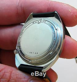 Serviced Vintage 219 Accutron Stainless Steel Tuning Fork Mens Watch