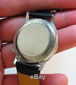 Serviced Vintage Accutron Railroad Stainless Steel Tuning Fork Men's Watch M7