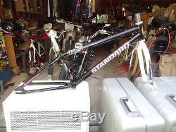 STANDARD CR125 BMX 24 frameset Supercross fork
