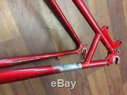 Salsa Ala Carte Medium Retro 26/650b Steel Mtb Mountain Bike Frame + Forks