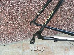 Scapin EOS Pro Team steel frame 1 carbon fork Columbus Genius geoid tubes 55