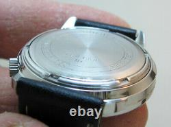 Serviced 2180 Accutron Bulova Stainless Steel Tuning Fork Men's Watch N1