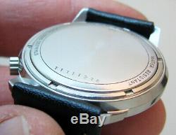 Serviced 2180 Accutron Bulova Stainless Steel Tuning Fork Men's Watch N5