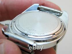 Serviced 2181 Accutron Bulova Stainless Steel Tuning Fork Men's Watch N0