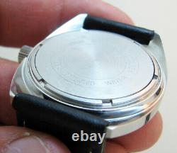 Serviced 2181 Accutron Bulova Stainless Steel Tuning Fork Men's Watch N4