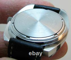 Serviced 2182 Accutron Bulova Stainless Steel Tuning Fork Men's Watch N4
