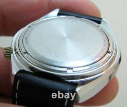 Serviced 2182 Accutron Bulova Stainless Steel Tuning Fork Men's Watch N6