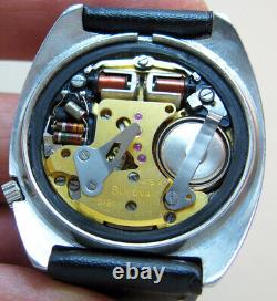 Serviced 218 Accutron Railroad Stainless Steel Tuning Fork Men's Watch N6