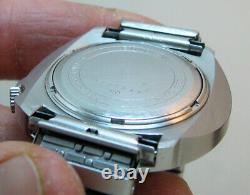Serviced Accutron 2182 Bulova Sputnik Stainless Steel Tuning Fork Men's Watch N0