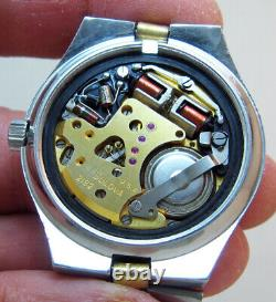 Serviced Accutron 2182 Bulova Stainless Steel Tuning Fork Men's Watch N4