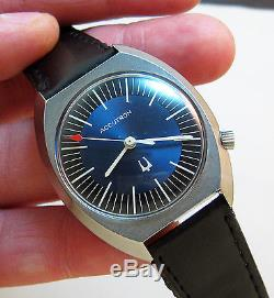 Serviced Vintage 219 Accutron Stainless Steel Tuning Fork Men's Watch N6