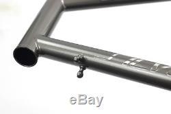 Silverock Chrome Minivelo Bike Frame Carbon Fork CRMO 20 451 Disc Caliper Brake