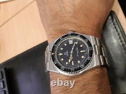 Solvil et Titus Tuning Fork Diver(Omega F300Hz) Bakelite bezel not working state