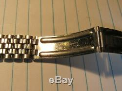 Stainless BULOVA ACCUTRON Tuning Fork Brick Link Watch Bracelet 11/16 17mm 18