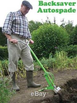 Stainless Steel Backsaver Spade. Also includes a FREE carbon steel fork head