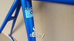 Steve Goff Steel Frame / Forks Size 48cm Small Columbus Tubing Rare TT Frameset