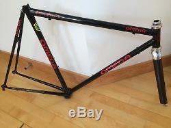 Stunning Omega Semi Lo Pro TT 60cm 23 Reynolds 631 Frame & Carbon Forks