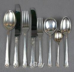 Superb vintage silver plated Cooper Bros & Sons Cutlery Set / Canteen for 12