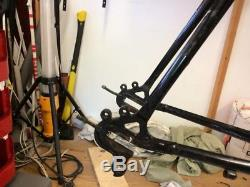 Surly Crosscheck 58cm frame, forks, headset and brakes