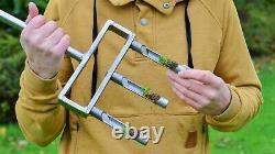 Swardman Professional Stainless Steel Hollow Core Tine Garden Fork Lawn Aerator