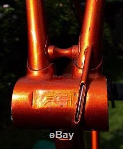 Thomas Lo Pro Vintage Steel Bike Frame Fork Saba 58cm Large 700/700c