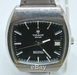 Tissot Tissonic Electronic Seastar ESA9162 Tuning Fork watch runs well