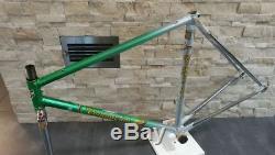 Tommasini Prestige Columbus SL steel road bicycle frameset frame fork 53 cm VGC