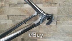 Tommasini Tecno Extra Columbus Genius steel frameset 54 cm frame fork VGC