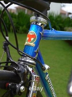Tommasini Tecno Frameset/Fork 48cm lugged Columbus Colnago Merckx Cinelli