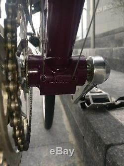UK Handmade steel Abilita road bike. Reynolds 531c Rossin Forks. Eroica