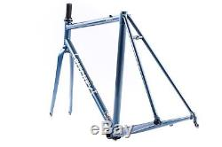 USED 2018 53cm Ritchey Logic Tubing Road Bike Steel Frame set Carbon Fork 30c
