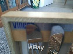 VINTAGE VINERS STUDIO CUTLERY CANTEEN 36 GERALD BENNEY 60's STAINLESS STEEL