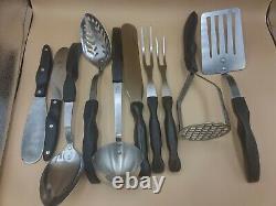 Vintage 10 piece Cutco Kitchen Tool Set Utensils Masher, Spoons, Spatulas, Forks