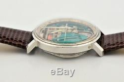 Vintage 1967 Bulova Accutron Spaceview Stainless Steel Watch M7 Tuning Fork